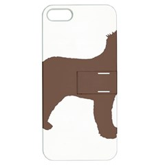 Irish Water Spaniel Silo Color Apple Iphone 5 Hardshell Case With Stand