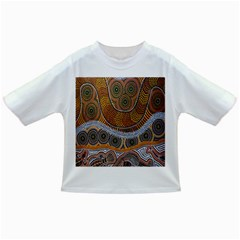 Aboriginal Traditional Pattern Infant/toddler T Shirts