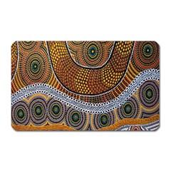 Aboriginal Traditional Pattern Magnet (rectangular)