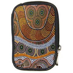 Aboriginal Traditional Pattern Compact Camera Cases