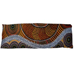 Aboriginal Traditional Pattern Body Pillow Case Dakimakura (two Sides)