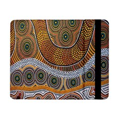 Aboriginal Traditional Pattern Samsung Galaxy Tab Pro 8 4  Flip Case