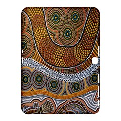 Aboriginal Traditional Pattern Samsung Galaxy Tab 4 (10 1 ) Hardshell Case
