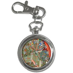 Traditional Korean Painted Paterns Key Chain Watches