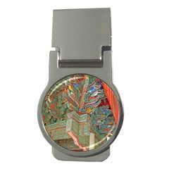 Traditional Korean Painted Paterns Money Clips (round)