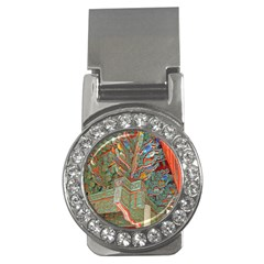 Traditional Korean Painted Paterns Money Clips (cz)