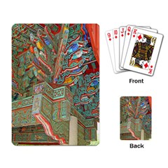 Traditional Korean Painted Paterns Playing Card