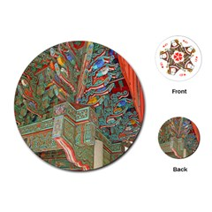 Traditional Korean Painted Paterns Playing Cards (round)
