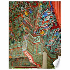 Traditional Korean Painted Paterns Canvas 18  X 24