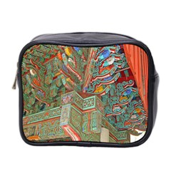Traditional Korean Painted Paterns Mini Toiletries Bag 2 Side