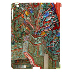 Traditional Korean Painted Paterns Apple Ipad 3/4 Hardshell Case (compatible With Smart Cover)
