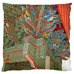 Traditional Korean Painted Paterns Large Cushion Case (one Side)