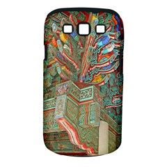 Traditional Korean Painted Paterns Samsung Galaxy S Iii Classic Hardshell Case (pc+silicone)