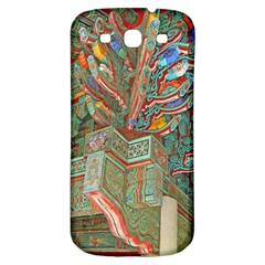 Traditional Korean Painted Paterns Samsung Galaxy S3 S Iii Classic Hardshell Back Case