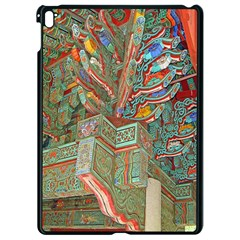 Traditional Korean Painted Paterns Apple Ipad Pro 9 7   Black Seamless Case