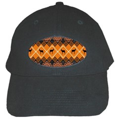 Traditiona  Patterns And African Patterns Black Cap