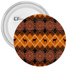 Traditiona  Patterns And African Patterns 3  Buttons