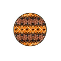 Traditiona  Patterns And African Patterns Hat Clip Ball Marker (4 Pack)