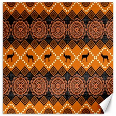 Traditiona  Patterns And African Patterns Canvas 20  X 20