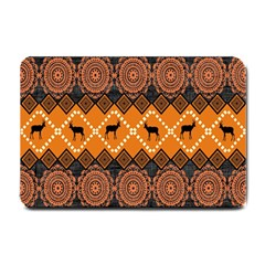 Traditiona  Patterns And African Patterns Small Doormat