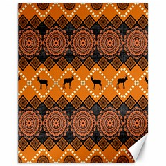 Traditiona  Patterns And African Patterns Canvas 11  X 14
