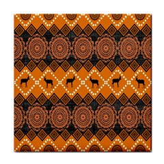 Traditiona  Patterns And African Patterns Face Towel