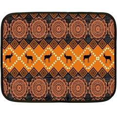 Traditiona  Patterns And African Patterns Fleece Blanket (mini)