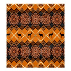 Traditiona  Patterns And African Patterns Shower Curtain 66  X 72  (large)