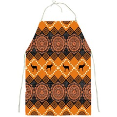 Traditiona  Patterns And African Patterns Full Print Aprons
