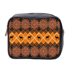 Traditiona  Patterns And African Patterns Mini Toiletries Bag 2 Side