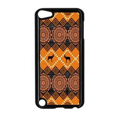 Traditiona  Patterns And African Patterns Apple Ipod Touch 5 Case (black)