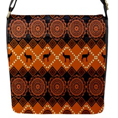 Traditiona  Patterns And African Patterns Flap Messenger Bag (s)