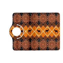 Traditiona  Patterns And African Patterns Kindle Fire Hd (2013) Flip 360 Case