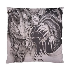 Chinese Dragon Tattoo Standard Cushion Case (one Side)