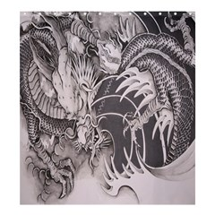 Chinese Dragon Tattoo Shower Curtain 66  X 72  (large)