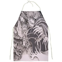 Chinese Dragon Tattoo Full Print Aprons