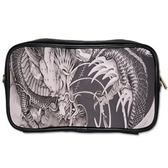Chinese Dragon Tattoo Toiletries Bags 2 Side