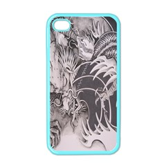 Chinese Dragon Tattoo Apple Iphone 4 Case (color)
