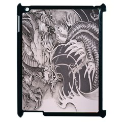 Chinese Dragon Tattoo Apple Ipad 2 Case (black)