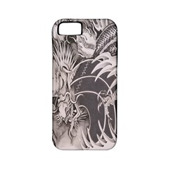 Chinese Dragon Tattoo Apple Iphone 5 Classic Hardshell Case (pc+silicone)