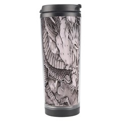 Chinese Dragon Tattoo Travel Tumbler