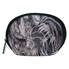 Chinese Dragon Tattoo Accessory Pouches (medium)