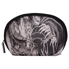 Chinese Dragon Tattoo Accessory Pouches (large)