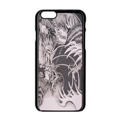 Chinese Dragon Tattoo Apple Iphone 6/6s Black Enamel Case