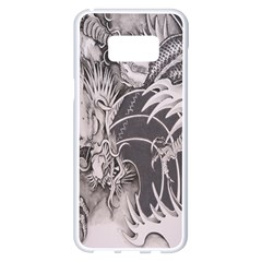 Chinese Dragon Tattoo Samsung Galaxy S8 Plus White Seamless Case