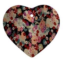 Japanese Ethnic Pattern Ornament (heart)