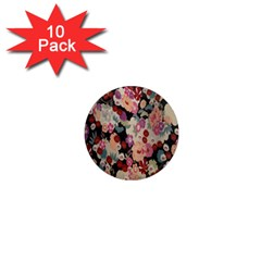 Japanese Ethnic Pattern 1  Mini Magnet (10 Pack)