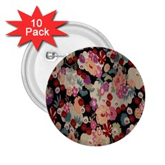 Japanese Ethnic Pattern 2 25  Buttons (10 Pack)