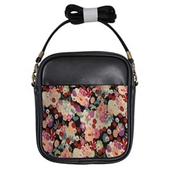 Japanese Ethnic Pattern Girls Sling Bags