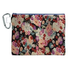 Japanese Ethnic Pattern Canvas Cosmetic Bag (xxl)